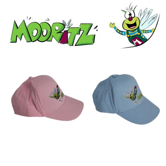 Mooritz Basecap blau pink