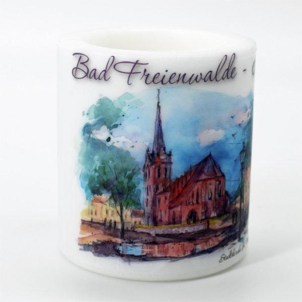 Motivkerze Bad Freienwalde